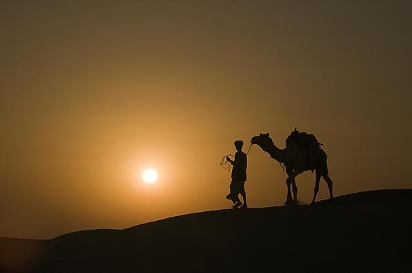 Sunil Kapadia - SKN 1483 Day Ends with Sunset