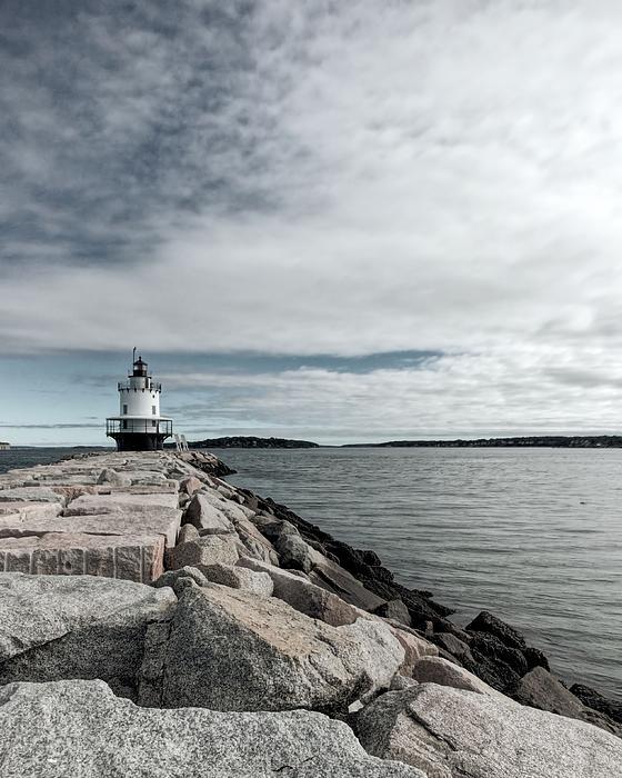 Jenny Hudson - Spring Point Ledge Light 2
