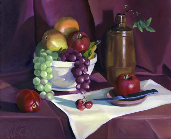 Nancy Griswold - Still Life with Apples