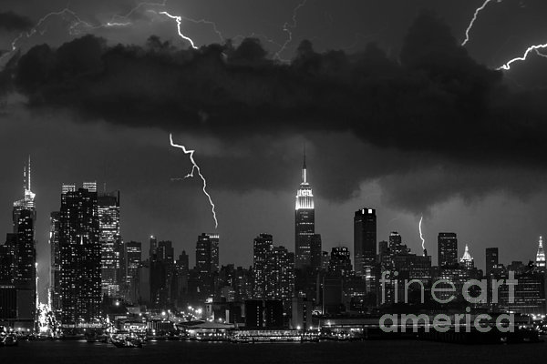 Jerry Fornarotto - Storm over NYC