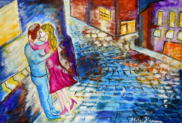 Ramona Matei - Street Kiss by Night