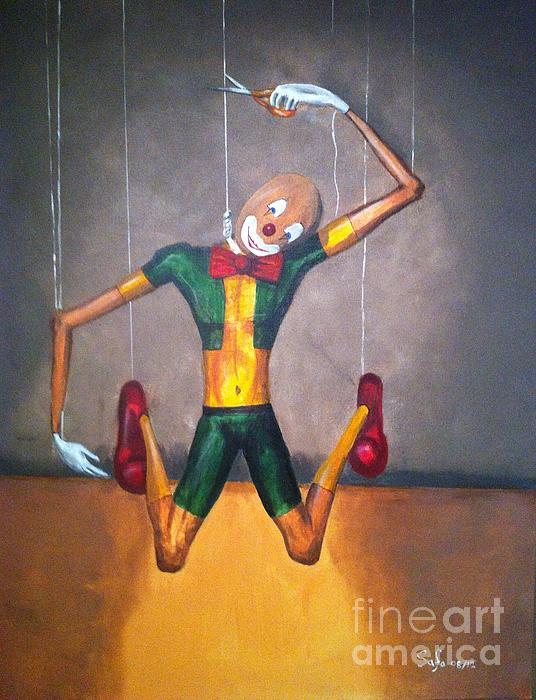 Safa Al-Rubaye - Suicide of A Puppet