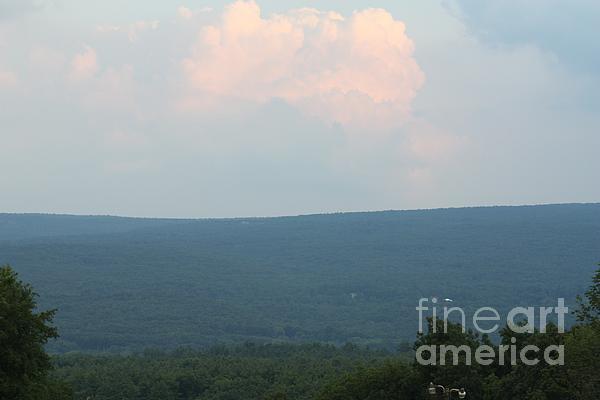 John Telfer - Sunset Over the Catskill Mountains