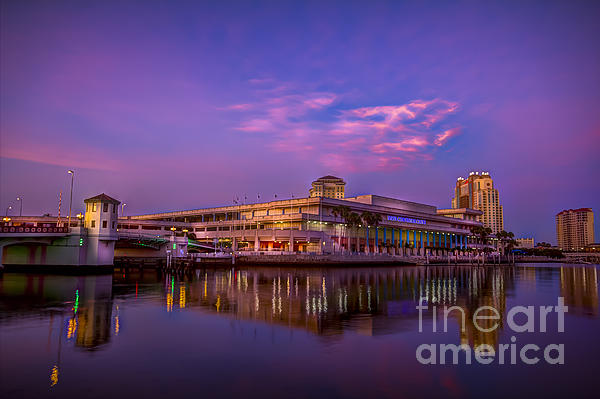 Marvin Spates - Tampa Convention Center at Dusk
