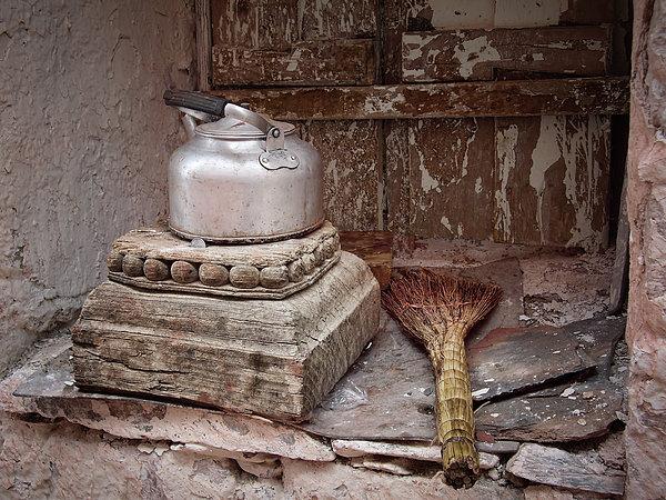 Joan Carroll - Teapot and Broom
