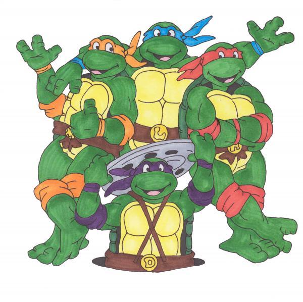 Teenage Mutant Ninja Turtles Greeting Card For Sale By Yael Rosen