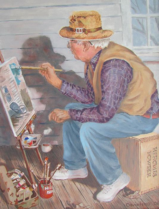 Tony Caviston - The Artist