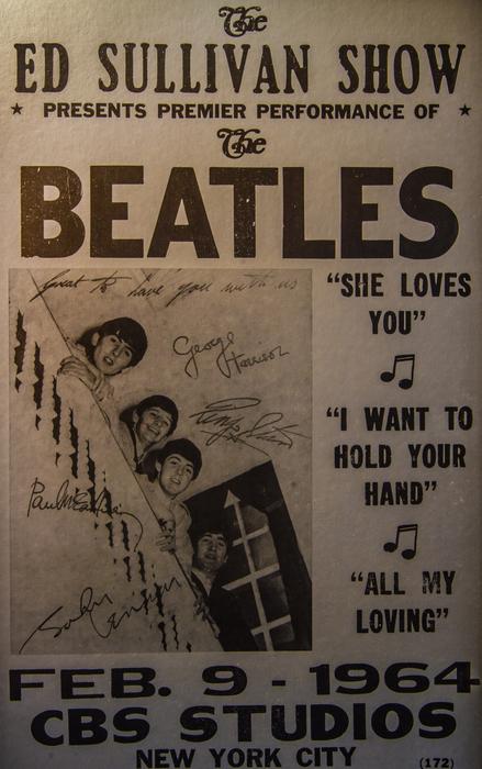 Mitch Shindelbower - The Beatles Ed Sullivan Show Poster