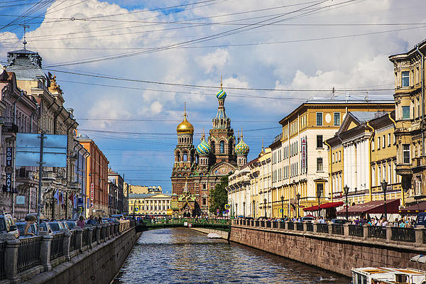 Madeline Ellis - The Church Of Our Savior On Spilled Blood - St. Petersburg - Russia