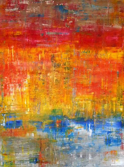 Tanya Lozano Abstract Expressionism - The Day