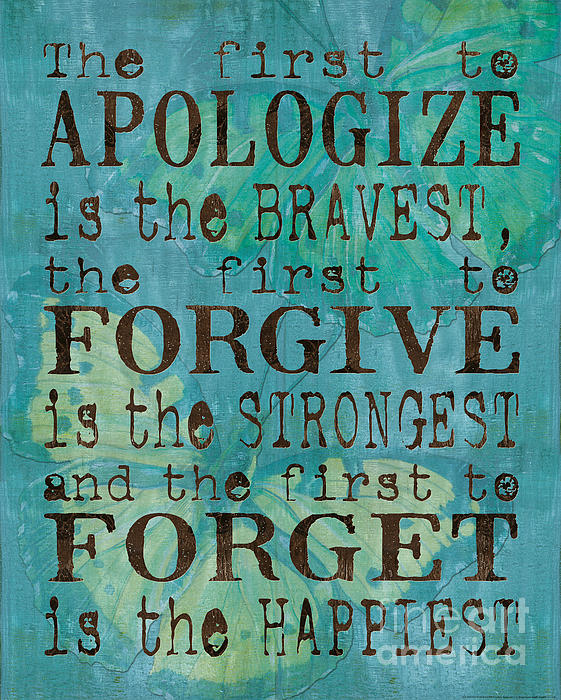 Debbie DeWitt - The First to Apologize