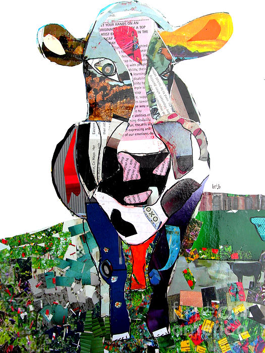 Bleu Bri - The Mod Cow