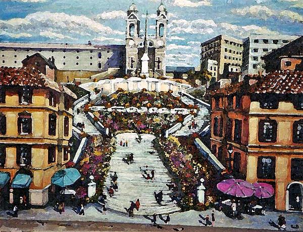 Rita Brown - The Spanish Steps