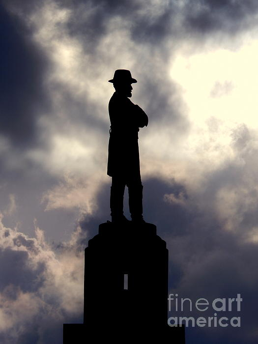 Michael Hoard - The Summer Solstice Of The Statue Of General Robert E. Lee In New Orleans Louisiana