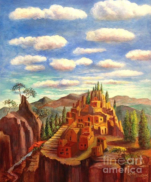 Randy Burns - Mexcio Desert Dwelling