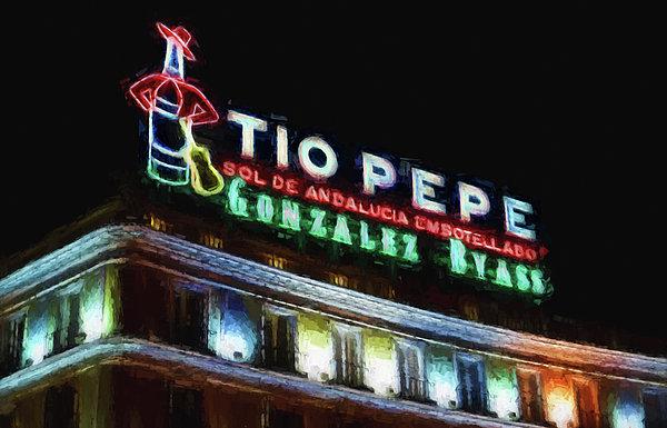 Joan Carroll - Tio Pepe Sign Madrid