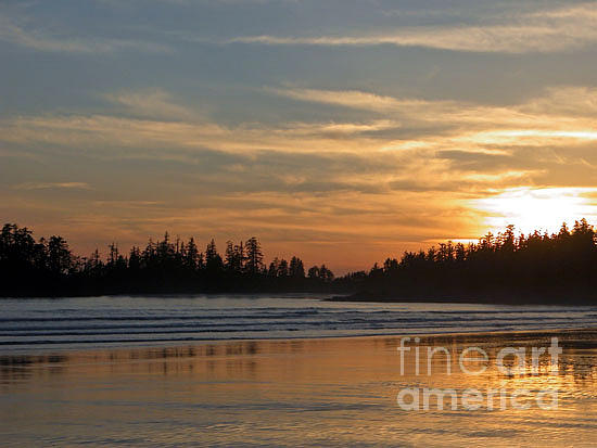 Don F  Bradford - Tofino Winter Sunset