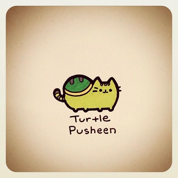 Pusheen Iphone  Case