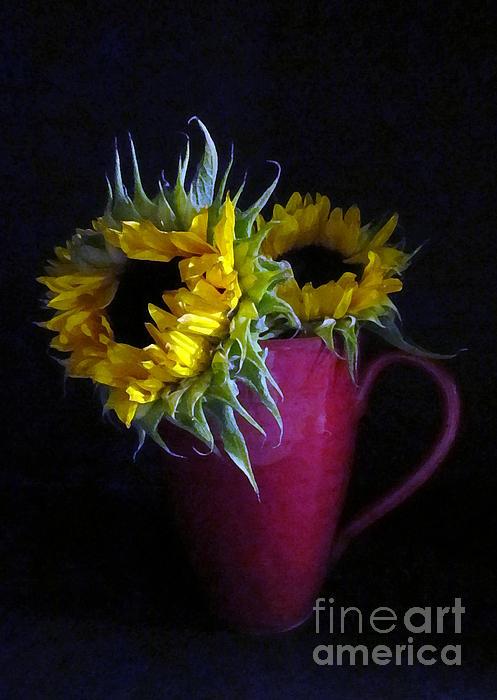 Patricia Januszkiewicz - Two Yellow Flowers