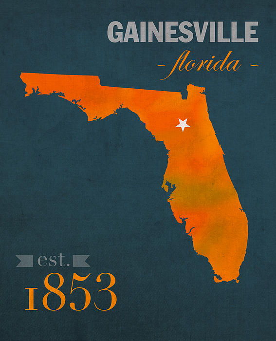 University Of Florida Gators Gainesville College Town Florida State