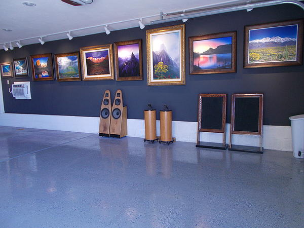 Jerry Bokowski -  Art studio