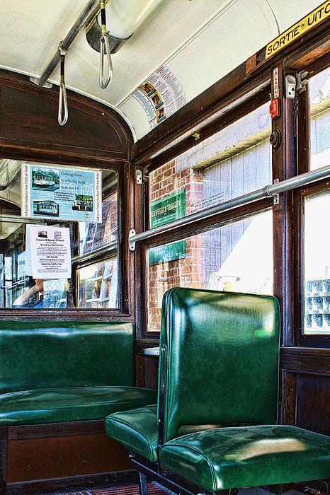 Lawrence Burry - Vintage Trolley Car