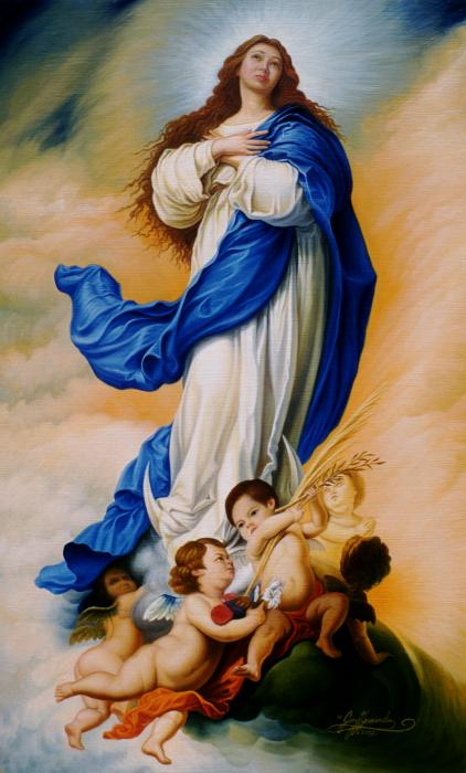 Image result for immaculate conception virgin