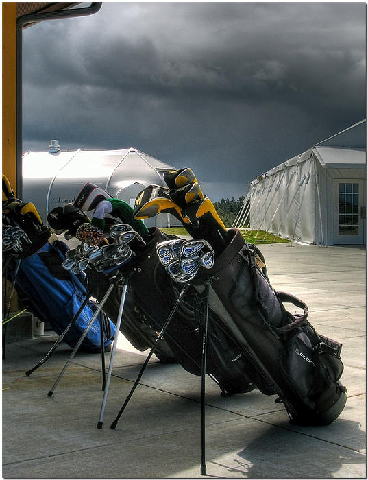 Chris Anderson - Waiting Out The Rain - Chambers Bay Golf Course