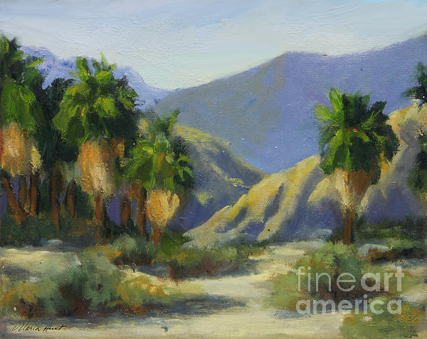 Maria Hunt - California Palms in the Preserve