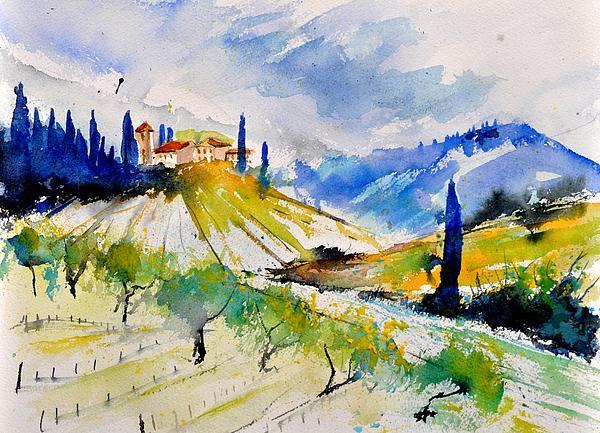 Pol Ledent - Watercolor Toscana 317040