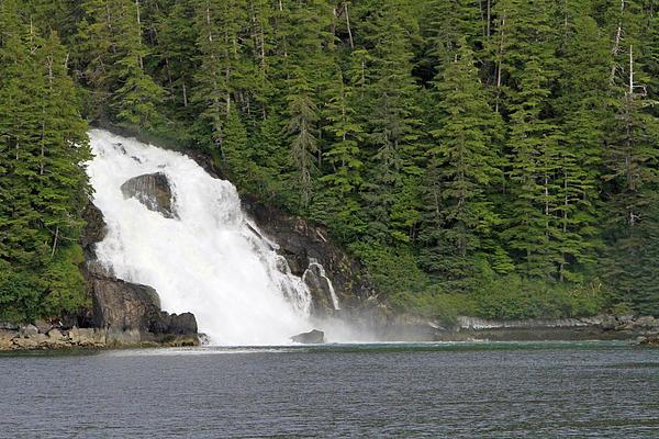 Shoal Hollingsworth - Waterfall in Alaska