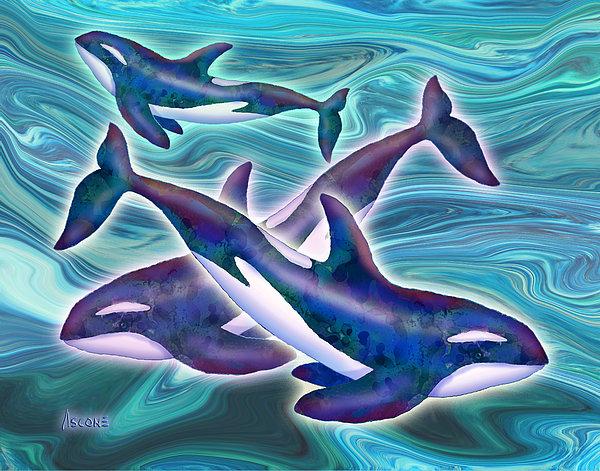 Teresa Ascone - Whale Whimsey