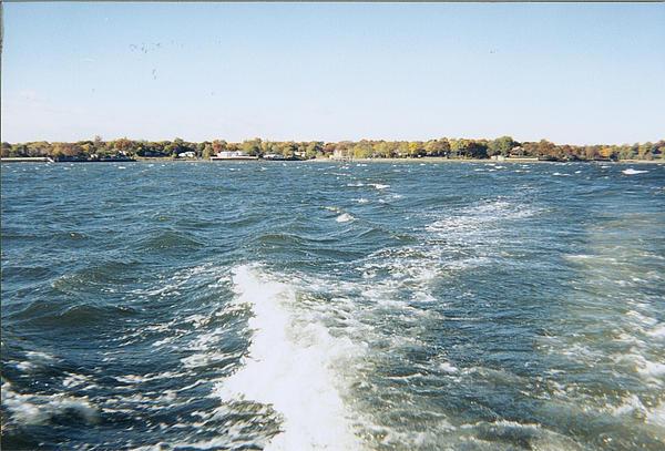John Telfer - White Caps In The Bay While Fishing