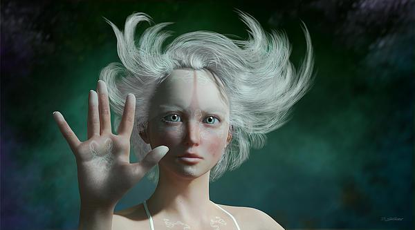 Britta Glodde - White Faun