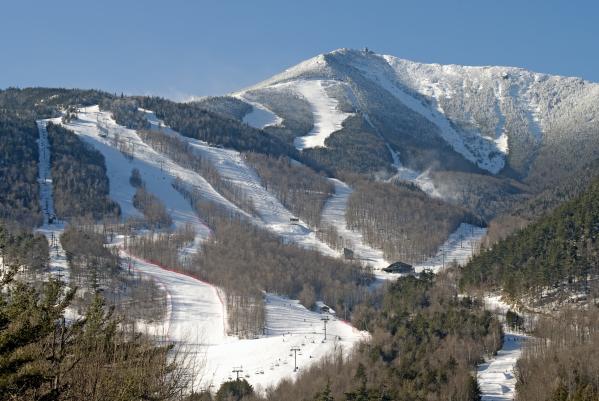 Brendan Reals - Whiteface Ski Mountain in Upstate New York near Lake Placid