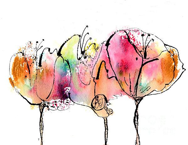 Cecelia Rust-Barlow - Wild Flowers