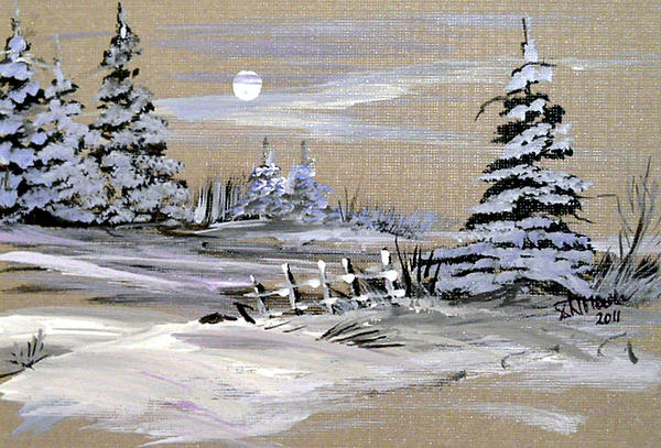 Dorothy Maier - Winter Evening