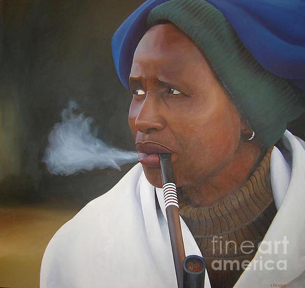 Edgar Pretorius - Xhosa Woman