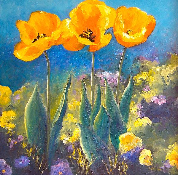 Jan Matson - Yellow Tulips