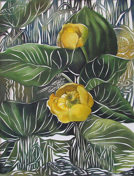 Alfred Ng - Yellow Waterlilies