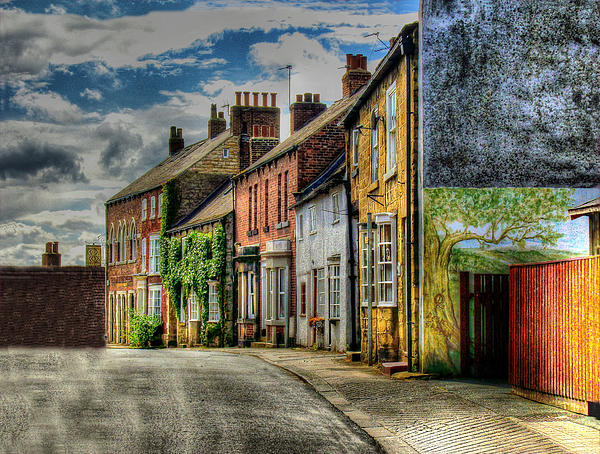 Doc Braham - A Row Of Beautiful Old Houses in England