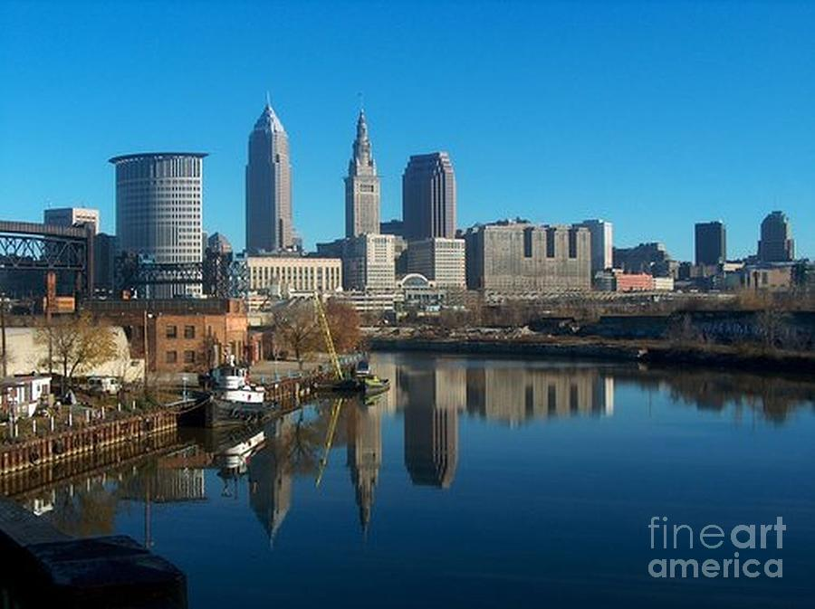Cleveland Reflections Photograph