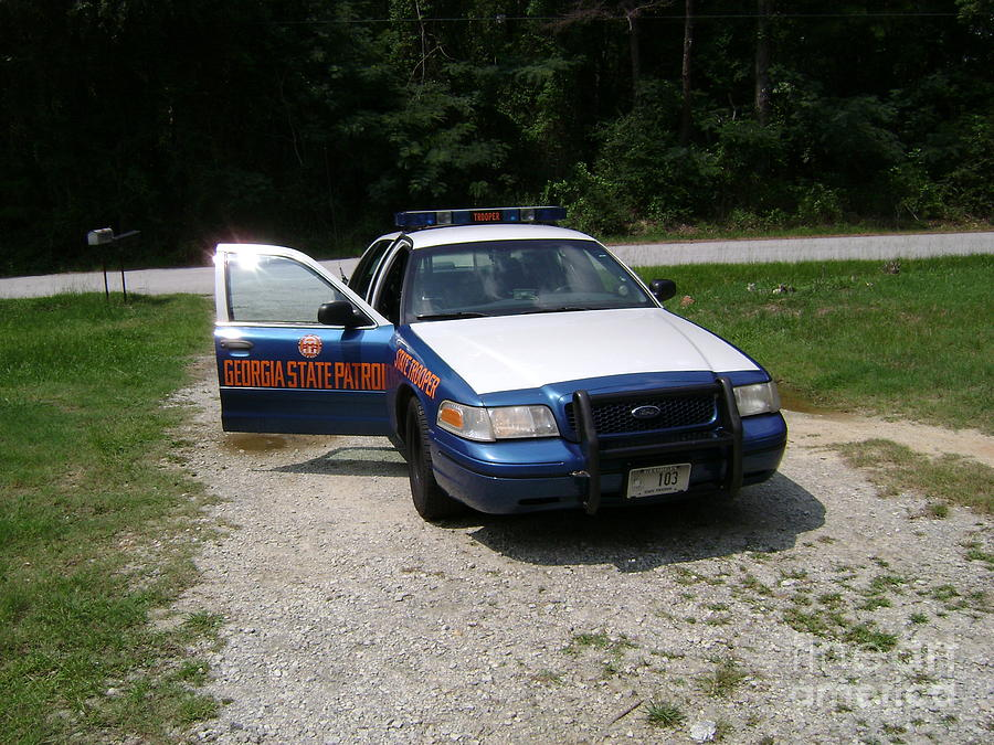 Conyers Photograph -      Georgia State Patrol by R A W M