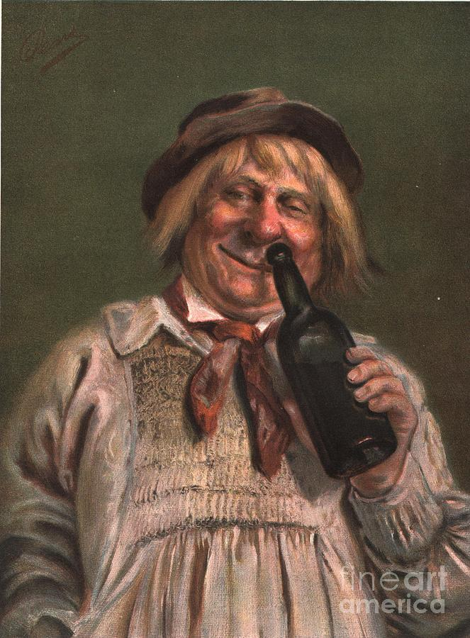 1890�s Drawing -  1890s Uk Expressions Smell Drunks by The Advertising Archives