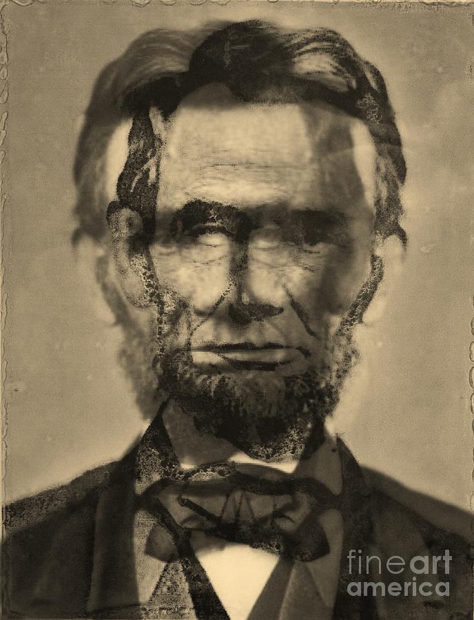 Michael Kulick Artwork  Photograph -  Abraham Lincoln by Michael Kulick