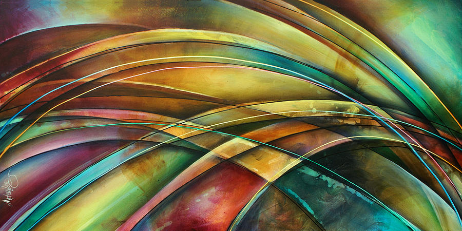 Abstract Painting -  Abstract  L1 by Michael Lang