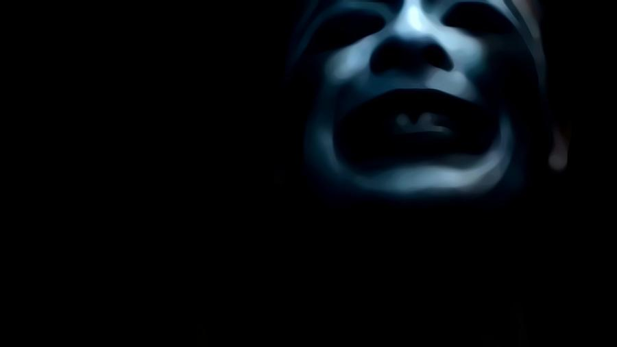 Blue Photograph -  Agony I Wait by Jessica Shelton