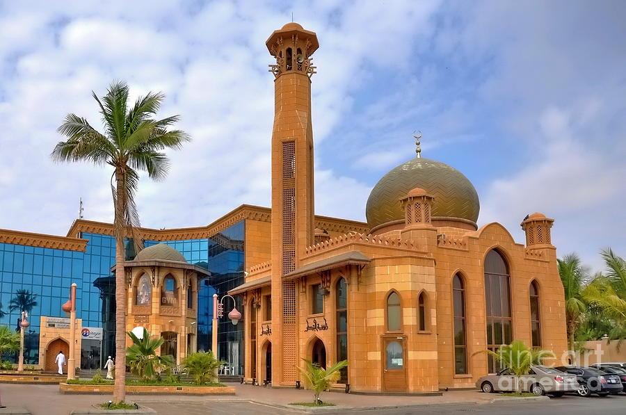 Mosque Photograph -  Al Tujjar Mosque by George Paris