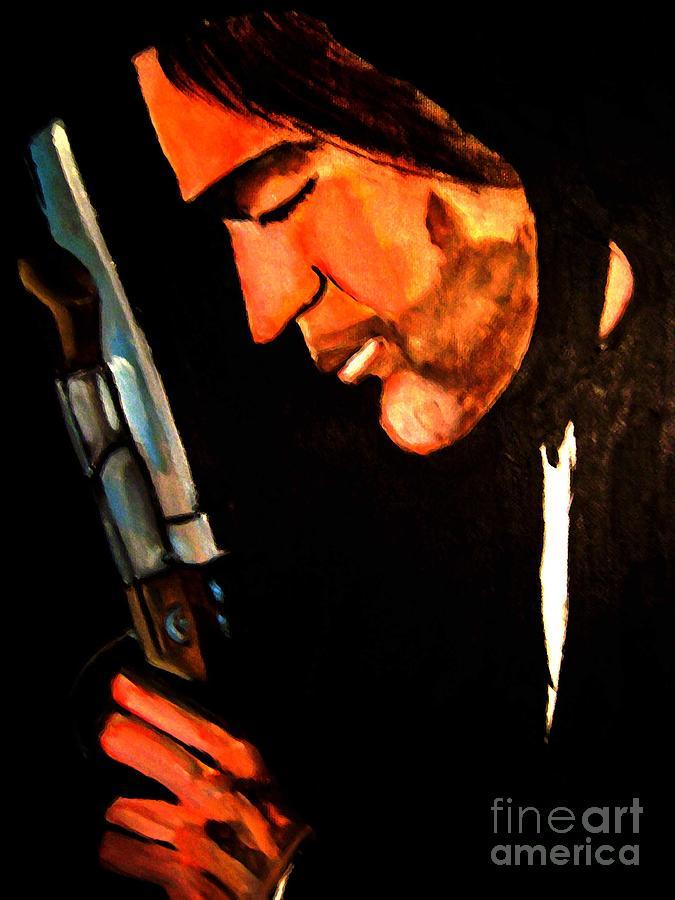 Celebrity Painting -  Antonio Banderas by Sidney Holmes