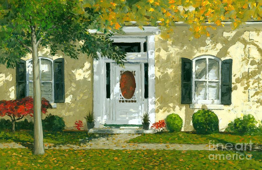 Autumn Painting -  Autumn Sunlight by Michael Swanson